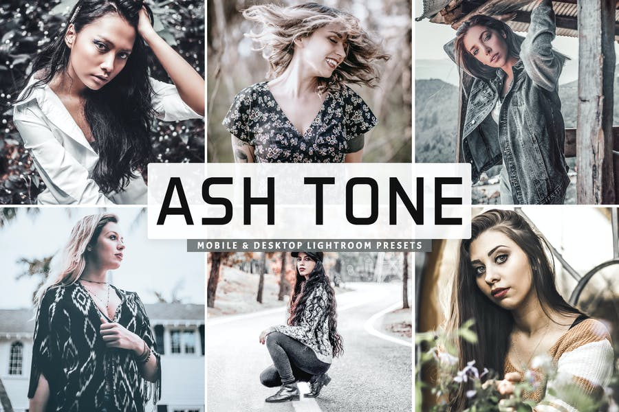 Ash Tone Mobile & Desktop Lightroom Presets