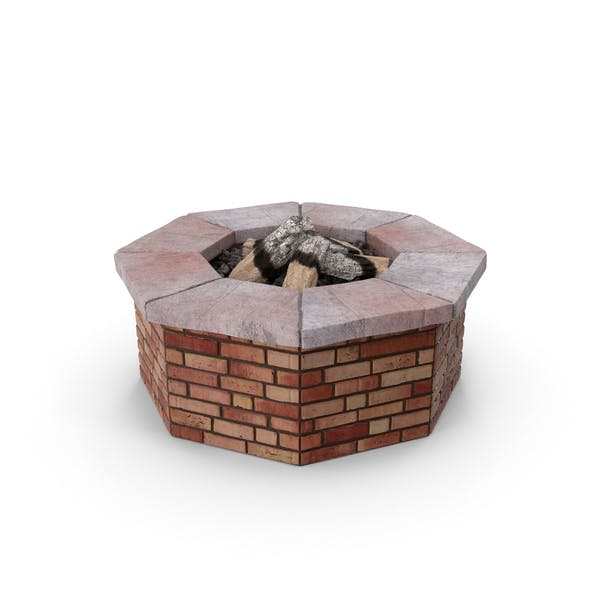 Thumbnail for Brick Fire Pit