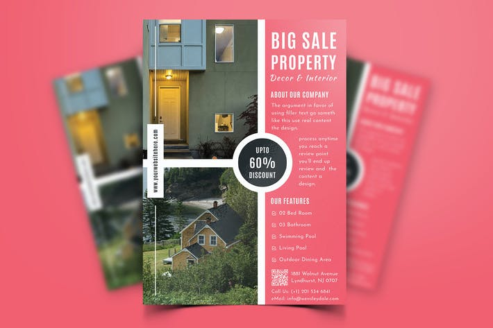 Thumbnail for Real Estate Property Flyer-10