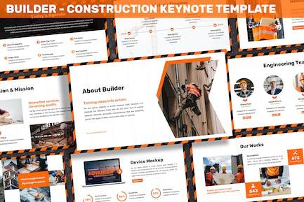 Builder - Construction Keynote Template