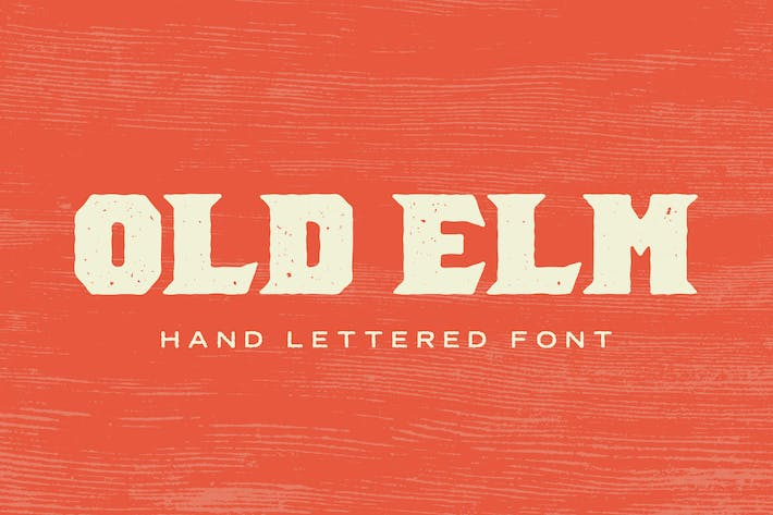 Thumbnail for Old Elm Font