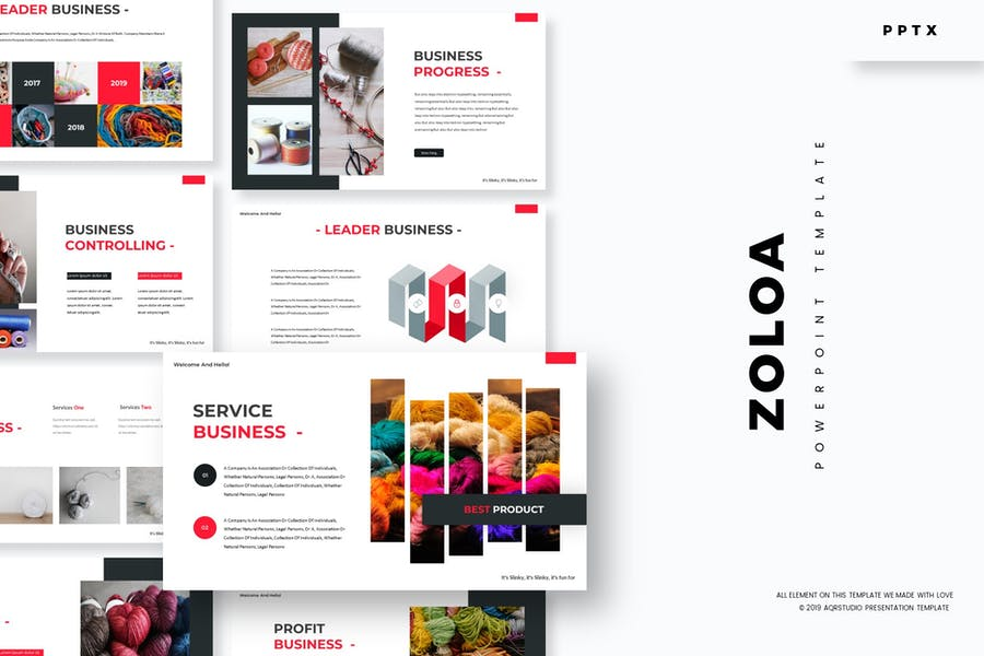 Zoloa - Powerpoint Template