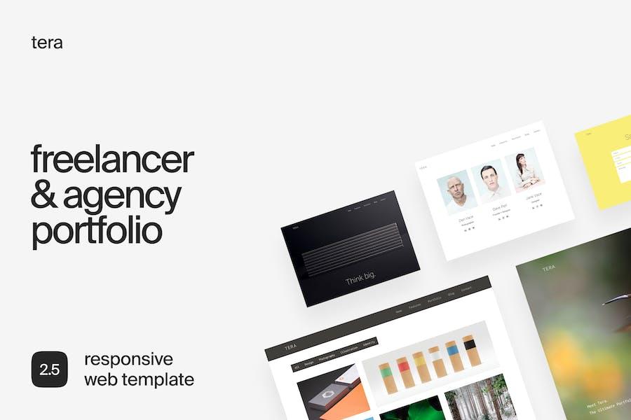 Tera | Modern Responsive HTML Template