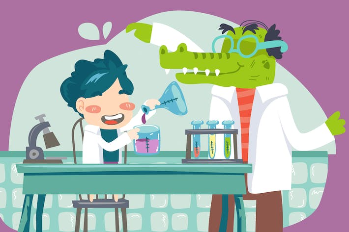 Cover Image For Kids Laboratory