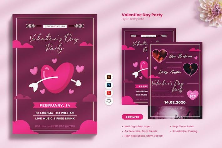 Thumbnail for Valentine Invitation Flyer