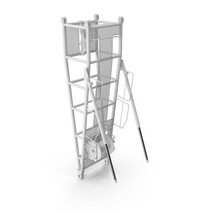 Crane Pivot Section 9.5 White