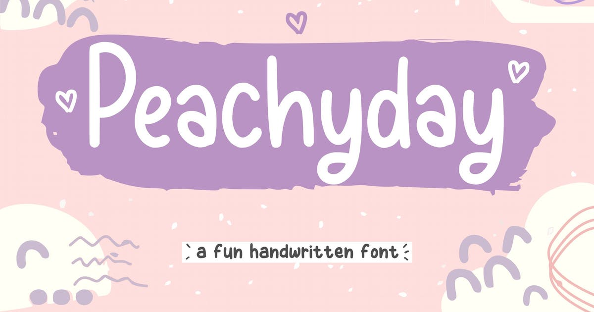 Download Peachyday Handwriting Font YH by GranzCreative