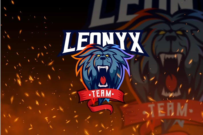 Thumbnail for Leonyx Team - Lion Mascot & Esport Logo