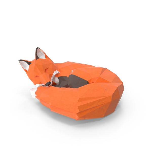 Thumbnail for Low Poly Fox