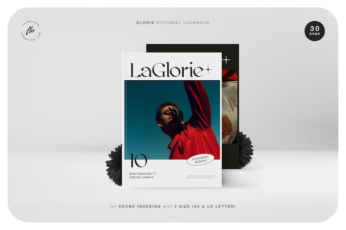 Thumbnail for Glorie Editorial Lookbook