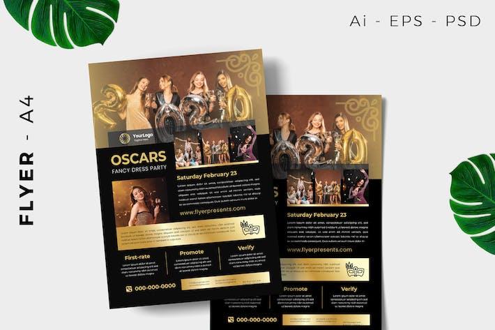 Thumbnail for Award Flyer Design