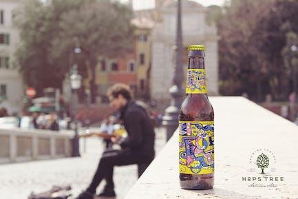 Artist Bridge Beer Mockup