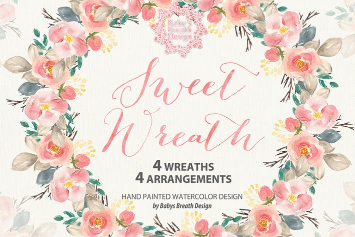 Thumbnail for Sweet Garden wreath