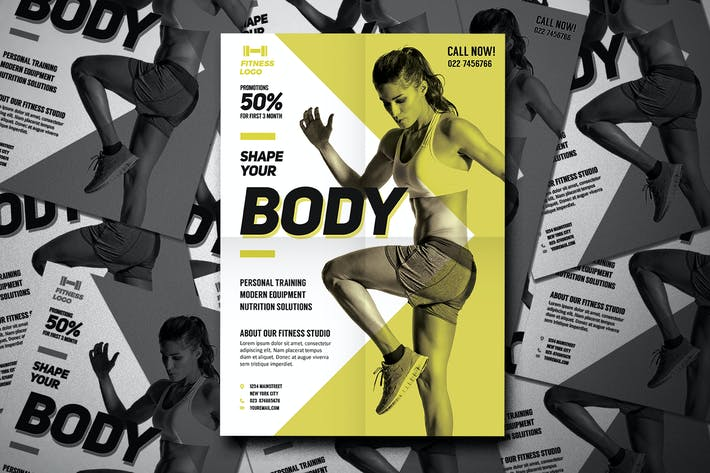 Thumbnail for Fitness Template