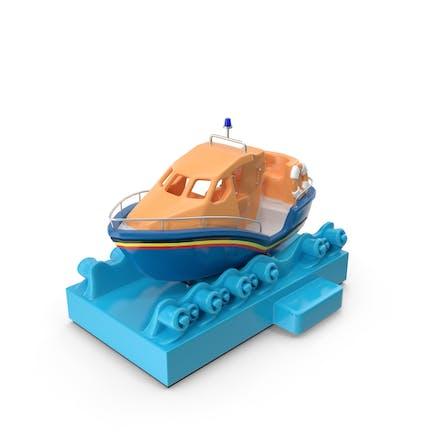 Kiddie Ride Long Life Boat