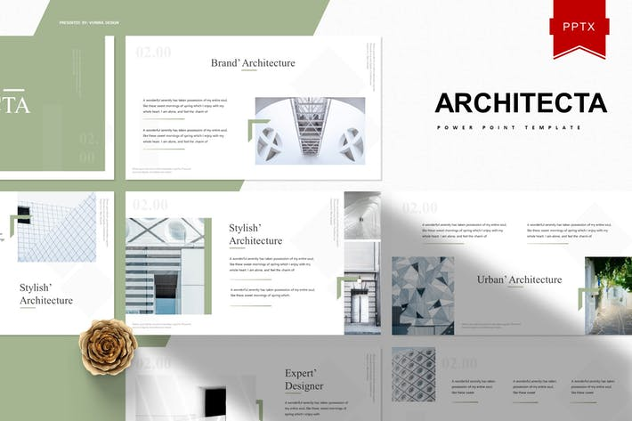 Thumbnail for Architecta | Powerpoint-Vorlage