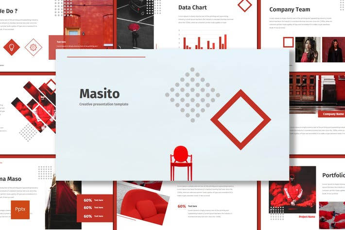 Thumbnail for Masito - Powerpoint Template