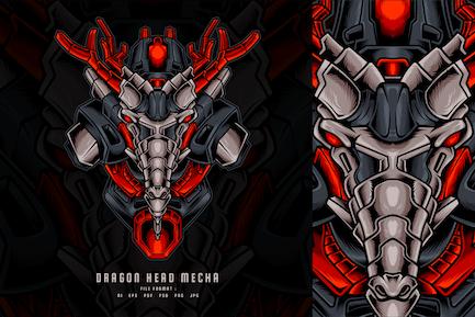 Dragon Head Mecha