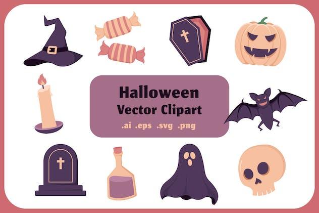 Halloween Vector Clip Art Collection