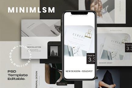 MINIMALISME - Kit médias sociaux