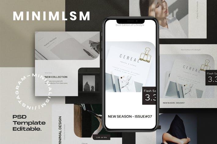 Thumbnail for MINIMALISM - Набор для социальных сетей