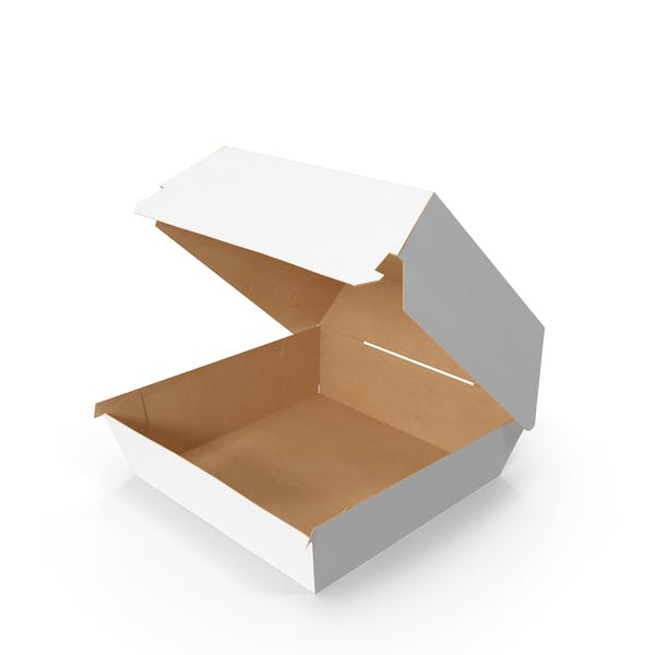Fast Food Burger Container