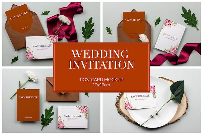 Thumbnail for Приглашение на свадебную открытку