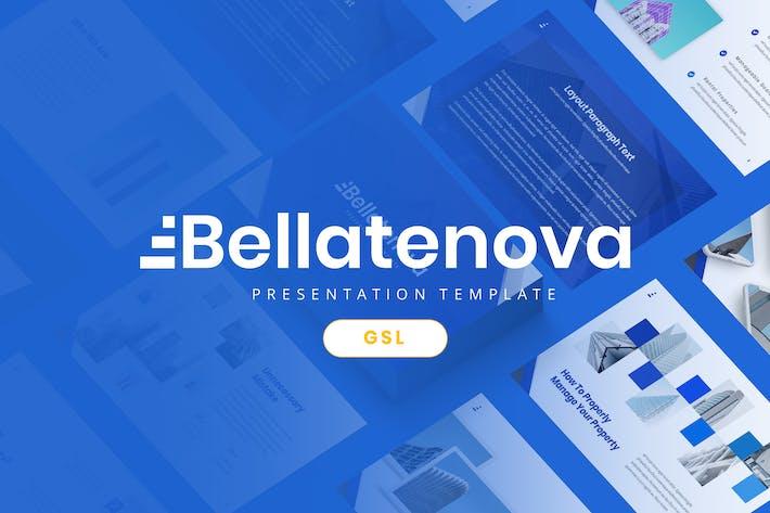 Thumbnail for Bellatenova - Firma Google Slides Vorlage