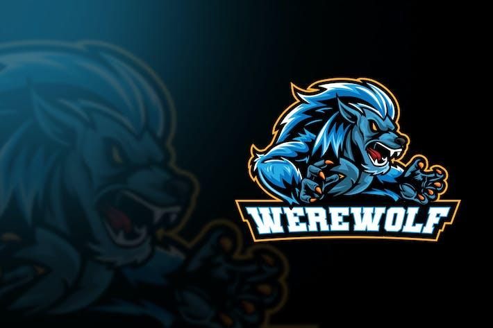 Thumbnail for Logo de Esport de hombre lobo