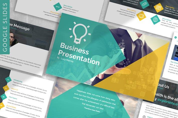Thumbnail for Brain - Business Google Slide Template
