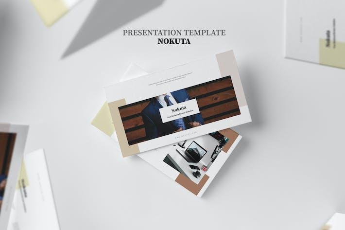 Cover Image For Nokuta : Startup Business Elegant Google Slides