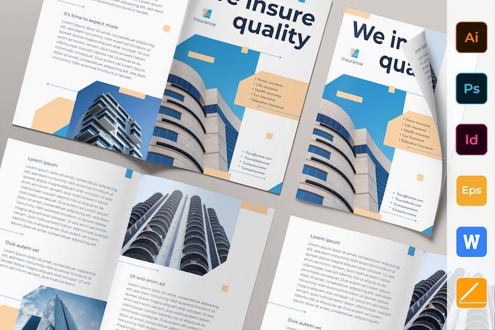 Thumbnail for Insurance Agency Brochure Bifold