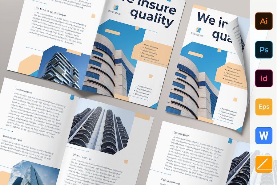 Insurance Agency Brochure Bifold