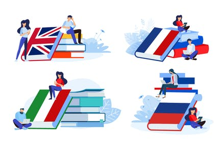 Online Language School and Courses