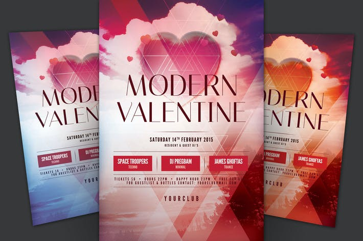Thumbnail for Modern Valentine Flyer