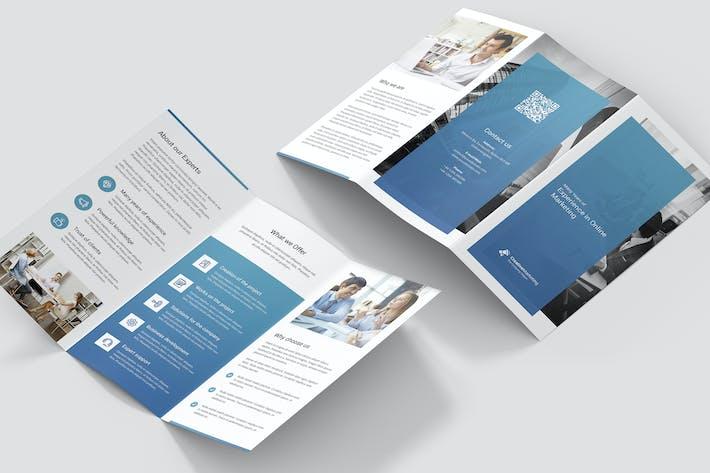 Thumbnail for Brochure – Creative Marketing Tri-Fold
