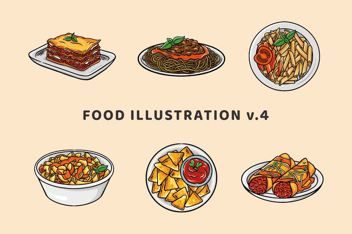 Food Illustration V.4