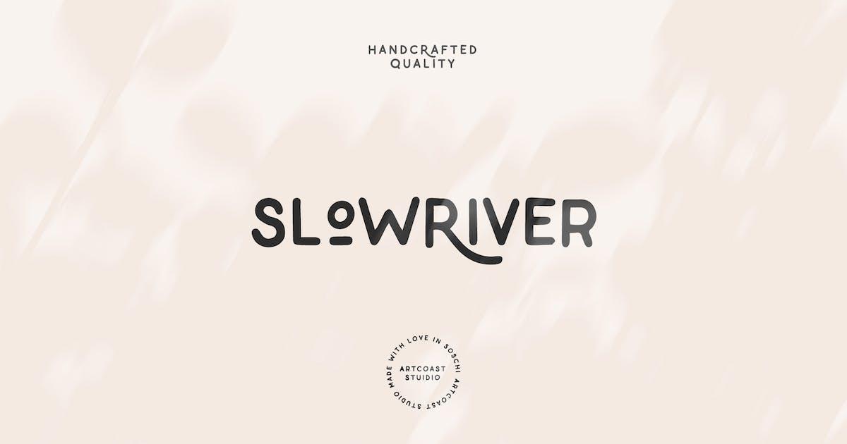 Download Slow River Handwritten Font by mankoff