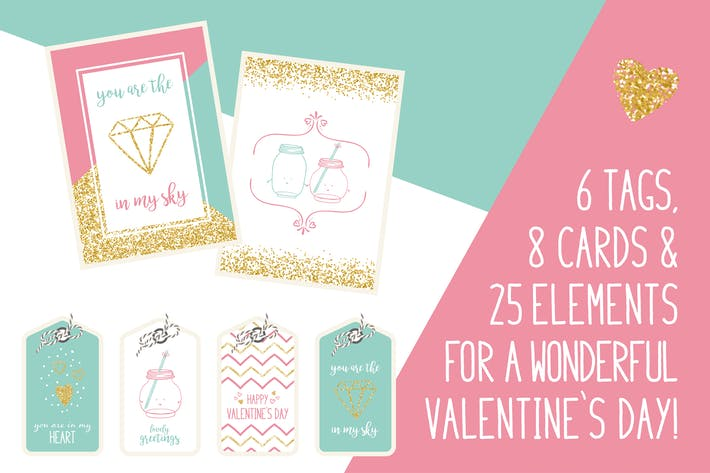 Thumbnail for Valentine`s Day Vector Bundle