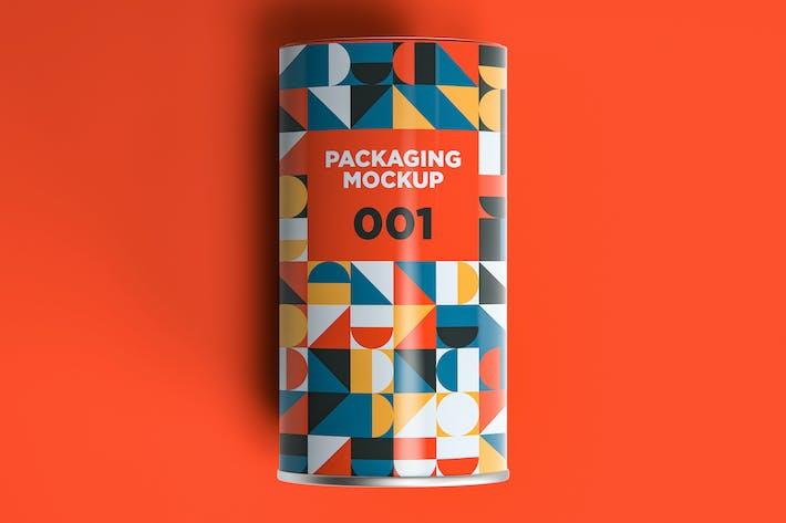 Thumbnail for Verpackung Mockup 001
