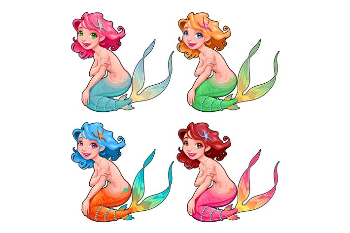 Thumbnail for Funny Young Mermaids