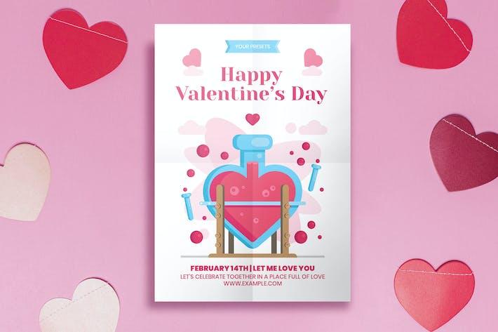 Thumbnail for Minimal Valentine's Day Flyer