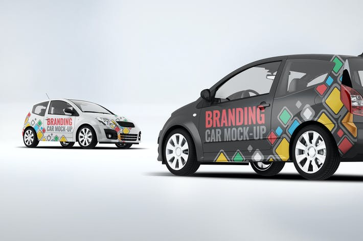 Thumbnail for City Car Branding Mock-up