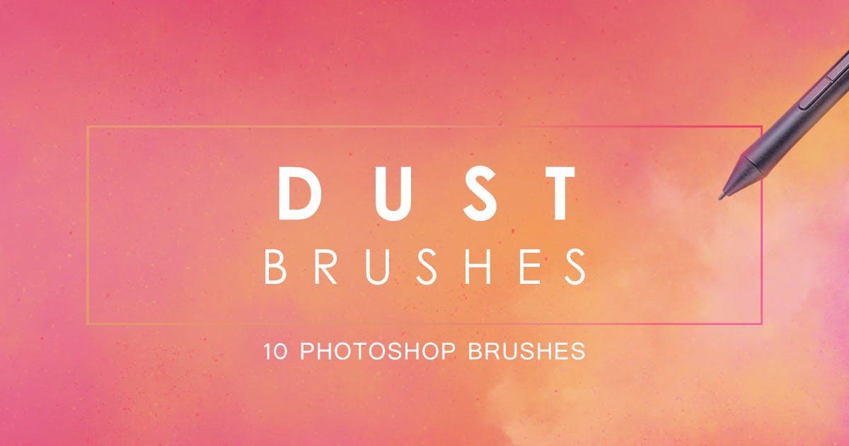 Download Dust Photoshop Brushes by FreezeronMedia