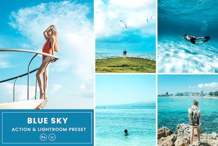 Blue Sky Action & Lightrom Presets