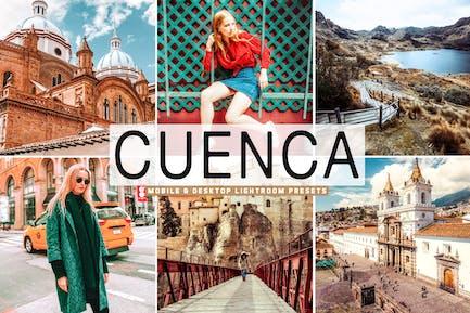 Cuenca Mobile & Desktop Lightroom Presets