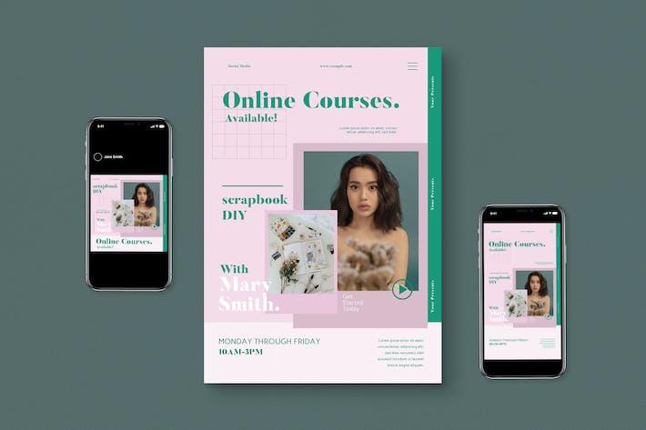 Thumbnail for Online Kurse Flyer Pack