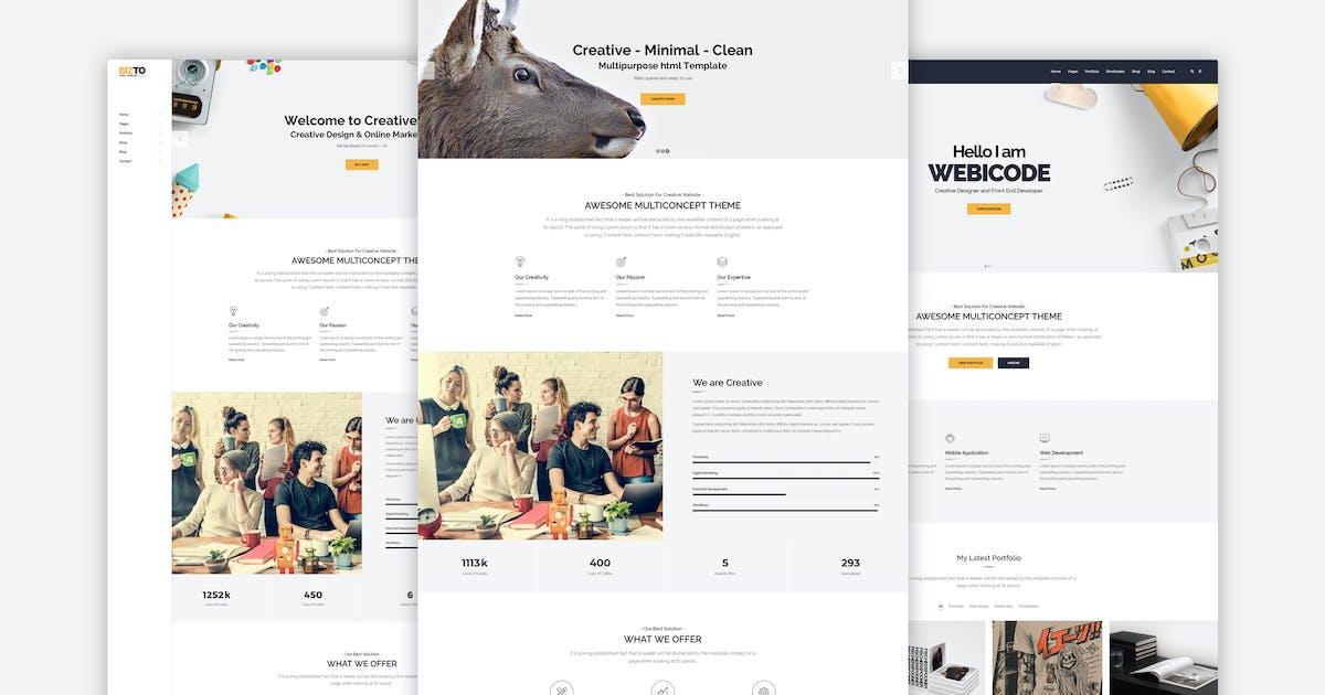 Download BizTo - MultiPurpose HTML5 Template by M_Adnan