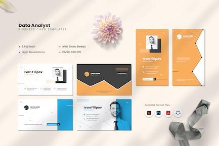 Data Analyst Business Card