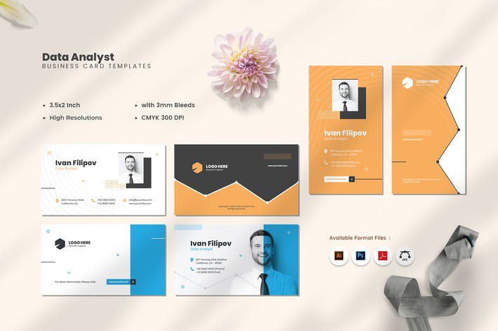 Thumbnail for Data Analyst Business Card